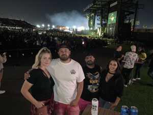 Joseph attended Blink-182 & Lil Wayne on Aug 27th 2019 via VetTix