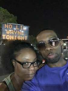 Micah attended Blink-182 & Lil Wayne on Aug 27th 2019 via VetTix