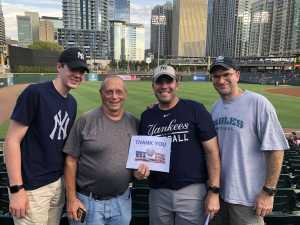 Matthew attended Charlotte Knights vs Scranton/WB Railriders - MiLB on Aug 14th 2019 via VetTix