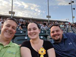 Robert attended Charlotte Knights vs Scranton/WB Railriders - MiLB on Aug 14th 2019 via VetTix