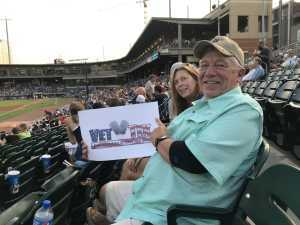 Frank attended Charlotte Knights vs Scranton/WB Railriders - MiLB on Aug 14th 2019 via VetTix