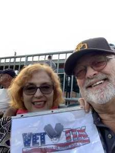 Bruce attended Charlotte Knights vs Scranton/WB Railriders - MiLB on Aug 14th 2019 via VetTix