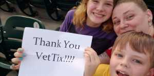 Joseph attended Charlotte Knights vs Scranton/WB Railriders - MiLB on Aug 14th 2019 via VetTix