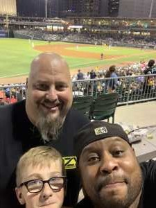 peter attended Charlotte Knights vs Scranton/WB Railriders - MiLB on Aug 14th 2019 via VetTix