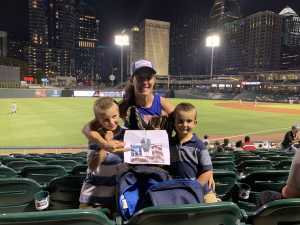 Mandy attended Charlotte Knights vs Scranton/WB Railriders - MiLB on Aug 14th 2019 via VetTix