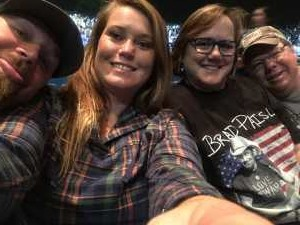 Shawn attended Brad Paisley Tour 2019 - Country on Aug 24th 2019 via VetTix