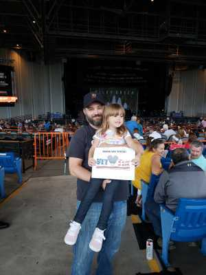 Rory attended Brad Paisley Tour 2019 - Country on Aug 24th 2019 via VetTix