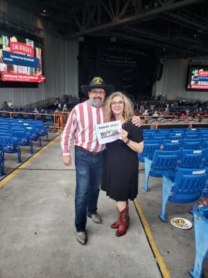 Craig attended Brad Paisley Tour 2019 - Country on Aug 24th 2019 via VetTix