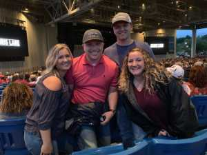 William attended Brad Paisley Tour 2019 - Country on Aug 24th 2019 via VetTix