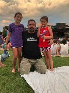 Greg attended Brad Paisley Tour 2019 - Country on Aug 24th 2019 via VetTix