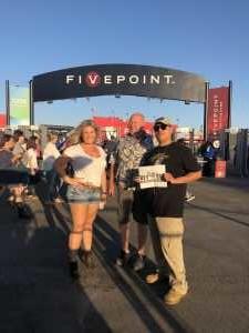 Javier attended Rascal Flatts: Summer Playlist Tour on Aug 1st 2019 via VetTix