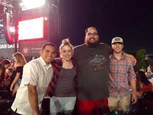 Abraham  attended Rascal Flatts: Summer Playlist Tour on Aug 1st 2019 via VetTix