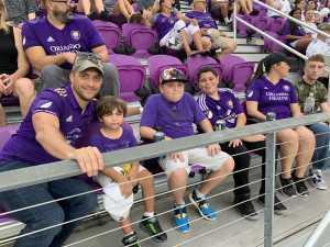 Luis attended Orlando City SC vs. FC Dallas - MLS *** Military Appreciation Match *** on Aug 3rd 2019 via VetTix