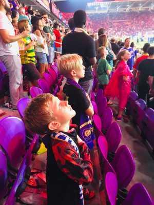 Russell attended Orlando City SC vs. FC Dallas - MLS *** Military Appreciation Match *** on Aug 3rd 2019 via VetTix