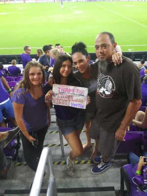 KEVIN attended Orlando City SC vs. FC Dallas - MLS *** Military Appreciation Match *** on Aug 3rd 2019 via VetTix