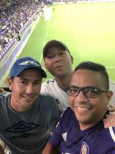 Jose attended Orlando City SC vs. FC Dallas - MLS *** Military Appreciation Match *** on Aug 3rd 2019 via VetTix