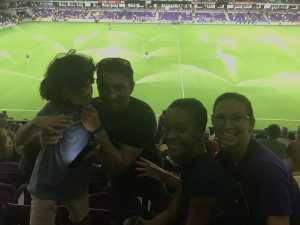 Davide attended Orlando City SC vs. FC Dallas - MLS *** Military Appreciation Match *** on Aug 3rd 2019 via VetTix