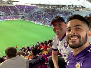 John attended Orlando City SC vs. FC Dallas - MLS *** Military Appreciation Match *** on Aug 3rd 2019 via VetTix