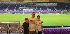 Matthew attended Orlando City SC vs. FC Dallas - MLS *** Military Appreciation Match *** on Aug 3rd 2019 via VetTix