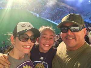 Tucker attended Orlando City SC vs. FC Dallas - MLS *** Military Appreciation Match *** on Aug 3rd 2019 via VetTix