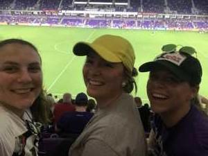 Kristin attended Orlando City SC vs. FC Dallas - MLS *** Military Appreciation Match *** on Aug 3rd 2019 via VetTix