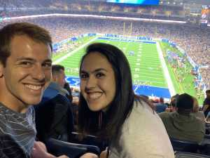 Samuel attended Detroit Lions vs. New England Patriots - NFL Preseason on Aug 8th 2019 via VetTix