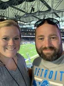 Nicholas attended Detroit Lions vs. New England Patriots - NFL Preseason on Aug 8th 2019 via VetTix