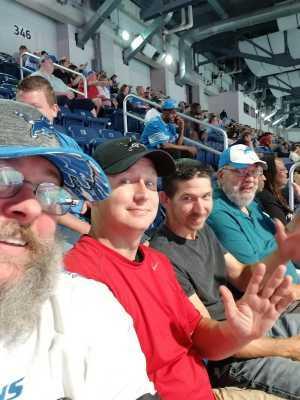 Jason attended Detroit Lions vs. New England Patriots - NFL Preseason on Aug 8th 2019 via VetTix
