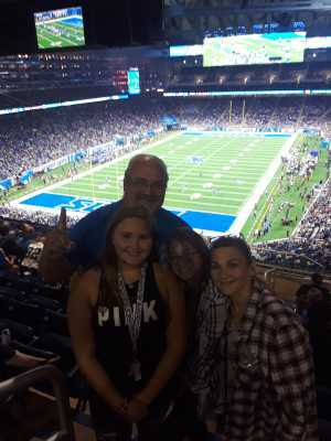 Scott attended Detroit Lions vs. New England Patriots - NFL Preseason on Aug 8th 2019 via VetTix