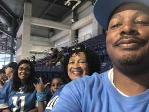 Herbert attended Detroit Lions vs. New England Patriots - NFL Preseason on Aug 8th 2019 via VetTix