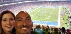 Terri attended Detroit Lions vs. New England Patriots - NFL Preseason on Aug 8th 2019 via VetTix