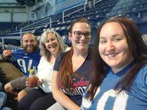 Breanna attended Detroit Lions vs. New England Patriots - NFL Preseason on Aug 8th 2019 via VetTix