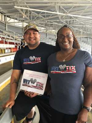 Monica Matthews attended Boyz II Men & 98 Degrees - Washington State Fair Events Center **fair Gate Admission Included on Sep 12th 2019 via VetTix