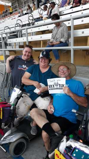 HOLLY attended Boyz II Men & 98 Degrees - Washington State Fair Events Center **fair Gate Admission Included on Sep 12th 2019 via VetTix