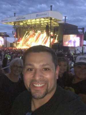 ZACHARY attended Boyz II Men & 98 Degrees - Washington State Fair Events Center **fair Gate Admission Included on Sep 12th 2019 via VetTix