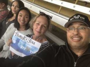 Ray Moss attended Boyz II Men & 98 Degrees - Washington State Fair Events Center **fair Gate Admission Included on Sep 12th 2019 via VetTix