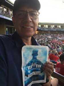 Jose attended Kane County Cougars vs. Cedar Rapids Kernels - MiLB on Aug 9th 2019 via VetTix