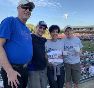 Steven attended Kane County Cougars vs. Cedar Rapids Kernels - MiLB on Aug 9th 2019 via VetTix