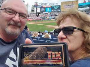 John attended New York Yankees vs. Cleveland Indians - MLB - Premium Seating on Aug 18th 2019 via VetTix