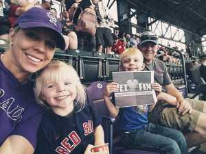 Click To Read More Feedback from Colorado Rockies vs. Boston Red Sox - MLB