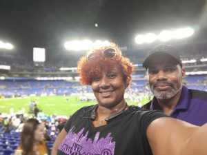 TOWANA attended Baltimore Ravens vs. Jacksonville Jaguars - NFL on Aug 8th 2019 via VetTix