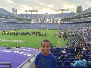 Joseph attended Baltimore Ravens vs. Jacksonville Jaguars - NFL on Aug 8th 2019 via VetTix