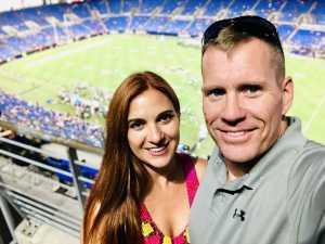 Kathleen attended Baltimore Ravens vs. Jacksonville Jaguars - NFL on Aug 8th 2019 via VetTix