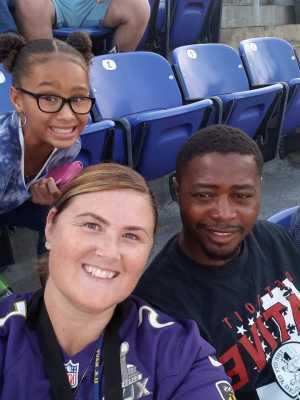 Alan attended Baltimore Ravens vs. Jacksonville Jaguars - NFL on Aug 8th 2019 via VetTix