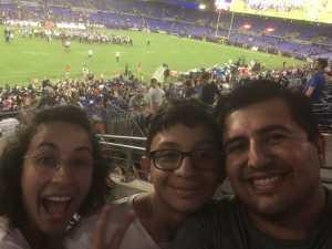 Ivan attended Baltimore Ravens vs. Jacksonville Jaguars - NFL on Aug 8th 2019 via VetTix