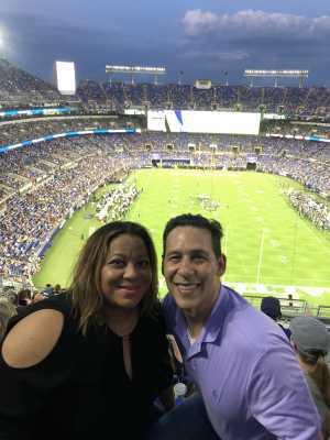 James attended Baltimore Ravens vs. Jacksonville Jaguars - NFL on Aug 8th 2019 via VetTix
