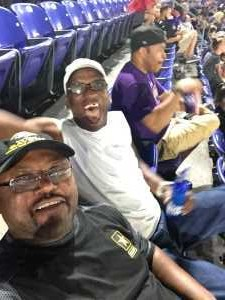 John V. Johnson Jr attended Baltimore Ravens vs. Jacksonville Jaguars - NFL on Aug 8th 2019 via VetTix