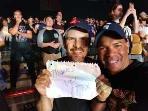 Raul attended Korn & Alice in Chains - Alternative Rock on Aug 10th 2019 via VetTix