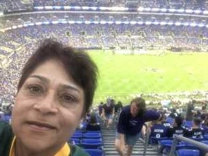 Rita attended Baltimore Ravens vs. Green Bay Packers - NFL on Aug 15th 2019 via VetTix