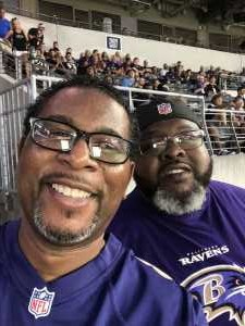 Adrienne attended Baltimore Ravens vs. Green Bay Packers - NFL on Aug 15th 2019 via VetTix